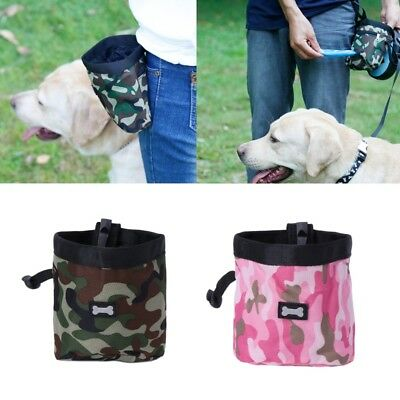 Portable Detachable Pet Dog Puppy Feed Snack Training Treat Waist Bag Pouch New