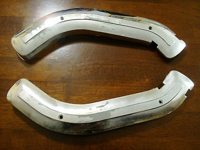 1967-1972 Ford Ranger Custom XLT Truck chrome Seat Hinge Covers OEM FoMoCo