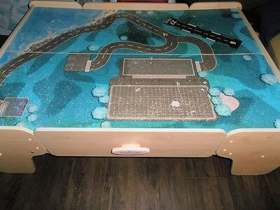 Train Table with storage drawers