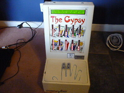 Gypsy Fortune Teller Penny Arcade Machine Coin Op Countertop Bar Man Cave Cafe