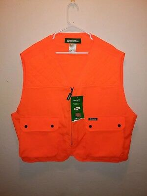 NWT REMINGTON HUNTING Safety VEST ORANGE Mens Size 2XL/3XL Fast Shipping!