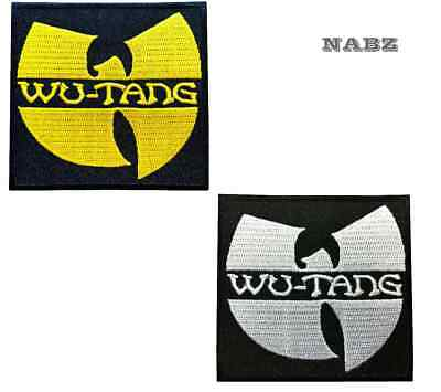 Wu-Tang Clan Hip Hop Music Band Embroidery iron sew on Patch Badge