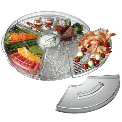 NEW Serroni Fresco Rotating Serving Platter On Ice