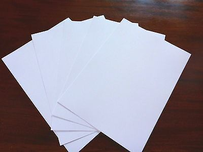 Hi White Linen Embossed 2 sided A4 300gsm card board stock 25 sheets