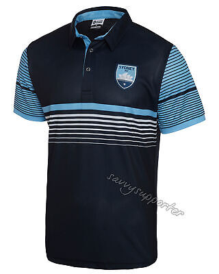 Sydney FC 2018 Sublimated Polo Shirt Sizes S-5XL BNWT