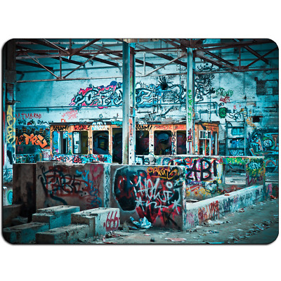 Mousepad EasyGrip Non Slip Mouse Pad Lost Places Graffiti Y01326