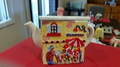 this is a collectors teapot
