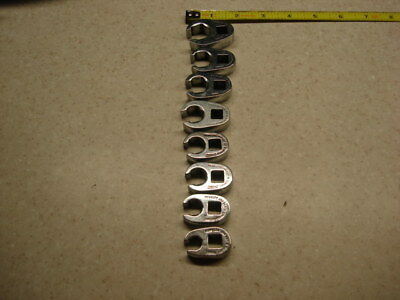 Snap-on Crows Foot Wrenches Flare Nut Metric