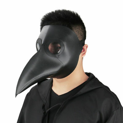 9choice Steampunk Bird Mask Leather Plague Doctor Gothic Halloween Party Mask