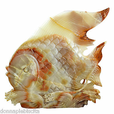 Sculpture Fish Onyx Emerald Emerald Green Onyx Fish Sculpture CLASSIC DESIGN
