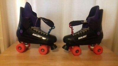 Bauer Champions quad rollerskates in a uk size 7.