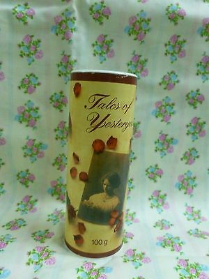 Vtg Avon Tales of Yesteryear Genesis Talc (100 gram)* Sealed