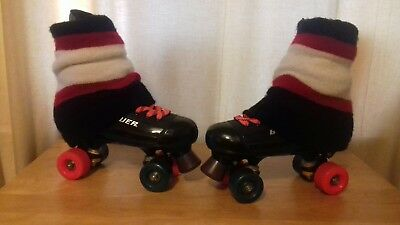 "Bauer ""Misty"" quad rollerskate conversions in a uk size 7."