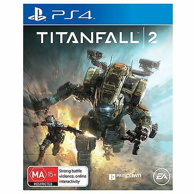 Sony PlayStation 4 PS4 GAME Titanfall 2 good condition FREE POSTAGE