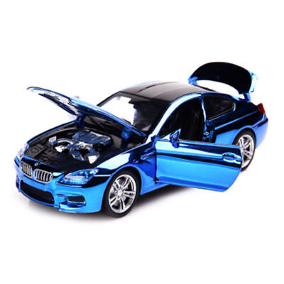 HOT BMW M6 1:32 Diecast Alloy Metal Luxury Racing Model Pull Back kids Toys Car