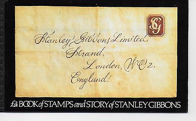 Stanley Gibbons  Book Of Stamps