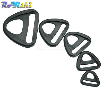 Plastic Adjuster with bar Swivel Clip D-Ring Loop Insert Buckle Backpack Straps