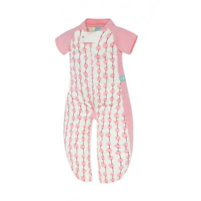 ErgoPouch Baby Sleep Suit Bag 1.0 Tog - 2-12 months - Pink Cherry