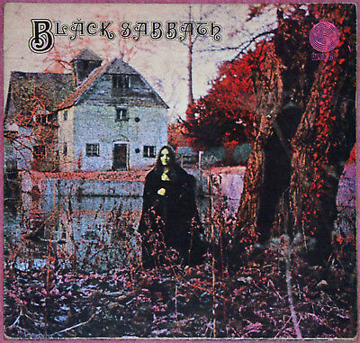 BLACK SABBATH BLACK SABBATH vinyl lp A1-1 B1 1st Press 1970