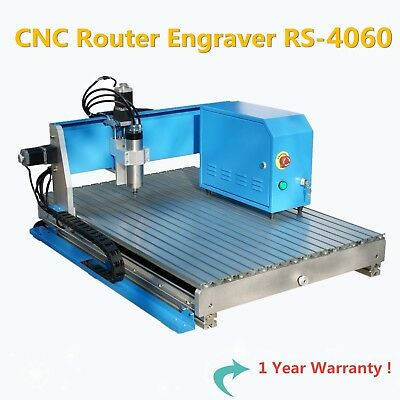 HI Quality - New 4060 CNC Router Engraving Drilling Milling / Air cooling