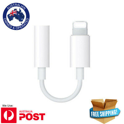 **NEW** Lightning to 3.5mm Headphone Adapter Jack Cable For Apple iPhone 7 Plus