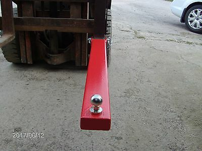 Forklift Tow Ball  Attachment Towing