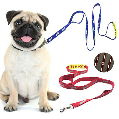 AU Pet Dog Puppy Cat Rabbit Kitten Nylon Harness Collar Leash Lead Adjustable