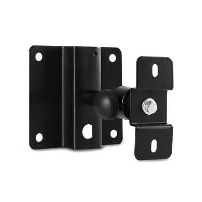 Sturdy Easy Fit Wall Mount Bracket Speaker Holder Home Hi Fi Adjustable Metal
