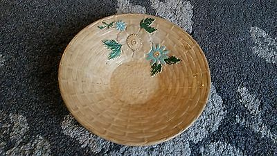 Burlington Ware J.shaw & Sons Bowl With Floral Design