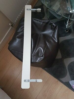 Ikea bed rail white very good condition