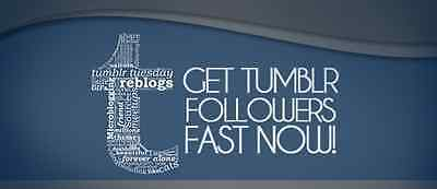 Social media marketing Add You Fast 1000 Tumblr Followers