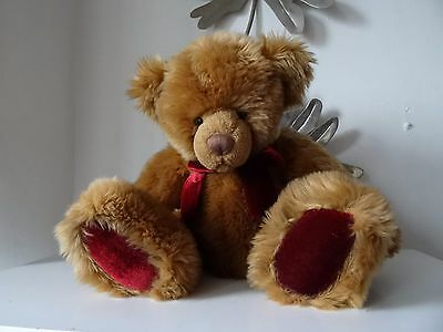 Russ TEDDY BEAR item number 33007 approx height sat 13 inches