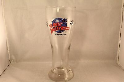 Planet Hollywood Niagra Falls Glass Cup