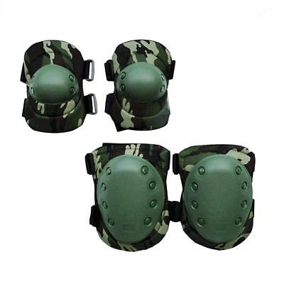Military CS Tactical Adjustable Knee & Elbow Pad Tactical Protective Gear