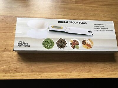Measuring Kitchen Scale Digital Spoon LCD Display Screen Baking Tool