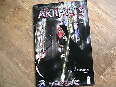 IMAGE Artifacts graphic comic iss #27 May 2013 NEW! Ron Marz Turini Troy Top Cow