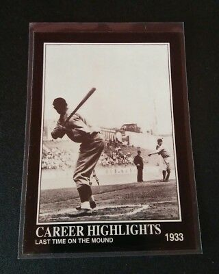 Babe Ruth Last Game #90 1992 Trading Card MLB Baseball New York Yankees