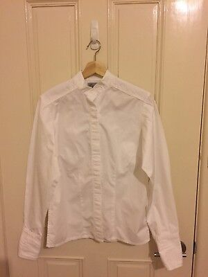 Wagners Ladies Cotton Turnout Show Shirt White