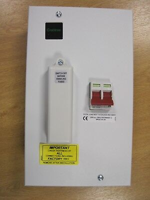 Crabtree 191002/100 'Fusestar' Double Pole 100 Amp Switchfuse - METALCLAD - NEW