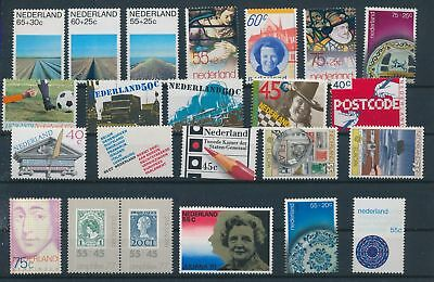 LH19765 Netherlands nice lot of good stamps MNH