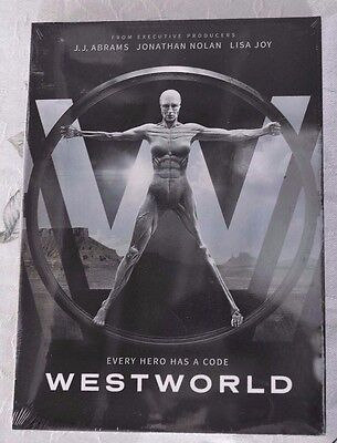 Westworld: The Complete First Season 1 (DVD, 2017) Brand New Sealed