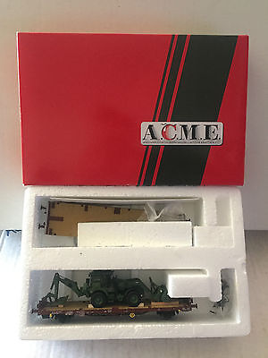 A.c.m.e. Vagone Merci Con Escavatore New,perfect!!!