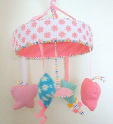 "MOTHERCARE ""Butterfly Fields"" Musical Cot Mobile"