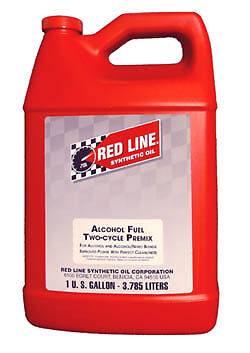 Red Line ALCOHOL FUEL TWO-CYCLE PREMIX 3.785 LITRE Bottle REDLINE 2 CYCLE
