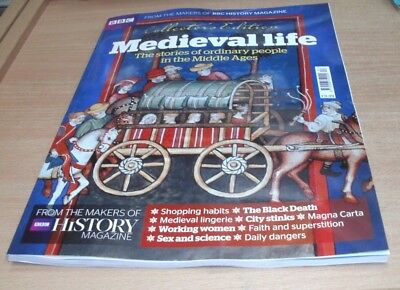 BBC History magazine Collector's Edition 2017 Medieval Life; Ordinary People in