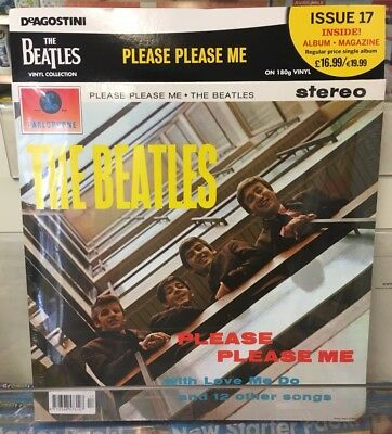 THE BEATLES VINYL COLLECTION ISSUE 17 PLEASE PLEASE ME SINGLE ALBUM REISSUE 180g