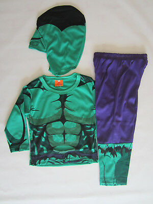COSPLAY HULK Kids Costumes Sizes 2-10 BRAND NEW Dressup, Parties etc