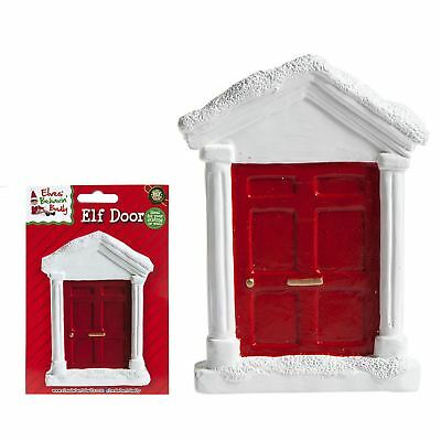 Christmas Elf Fairy Magical Door Skirting Board Windowsill Elf Shelf Ideas