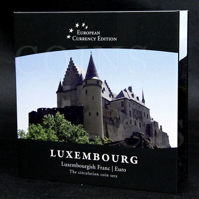 European Currency LUXEMBOURG Luxembourgish Franc /  Euro Circulation Coin Sets