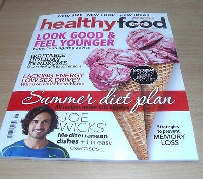 Healthy Food Guide magazine AUG 2017 Joe Wicks Memory Loss Anti-Ageing Sex Drive